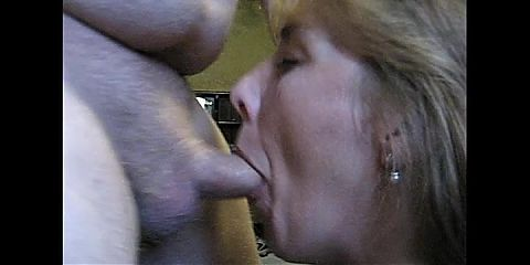 Real cheating slut wife blows stranger and gets face and throat fucked