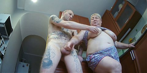 wife jerks off, sucks and jerks off my cock again