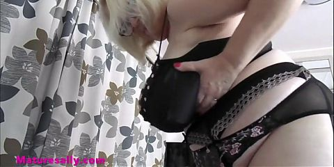 Sallys huge tits grabbed and fondled