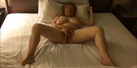 Insane orgasm, busty mature