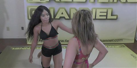 Free Video of the Month - Briella vs Mylina - (REAL)