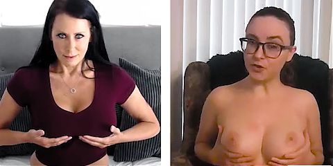 Busty MILF Learns How To Please Herself With A Help Of A Pro